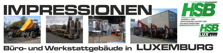 HSB Baumaschinen / Niederlassung Luxemburg