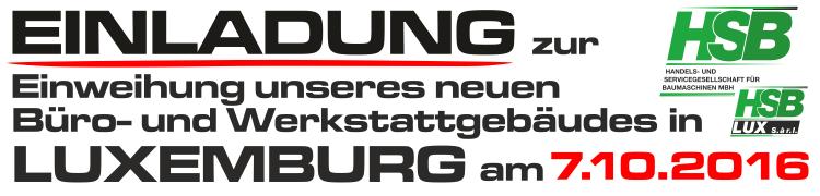 Einladung nach Luxemburg