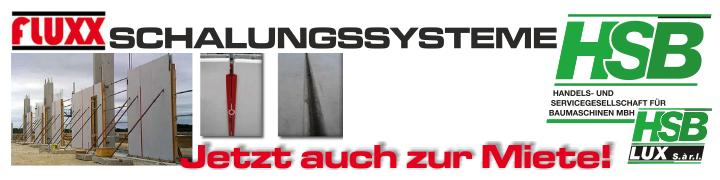 Aktuell / FLUXX Schalungssysteme zur Miete