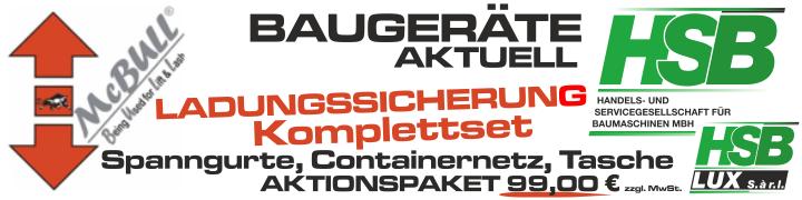 HSB Aktuell – Ladungssicherung Aktiospaket für 99,00€