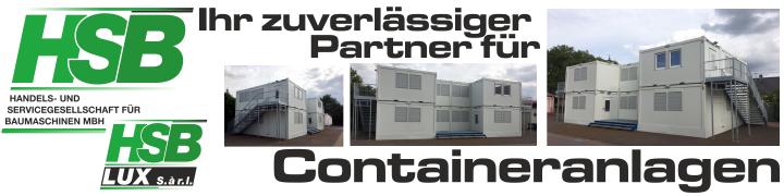 Ihr zuverlässiger Partner für Containeranlagen