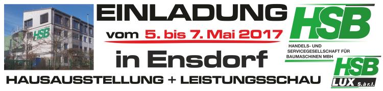 Hausausstellung in Ensdorf / 5. bis 7. Mai 2017