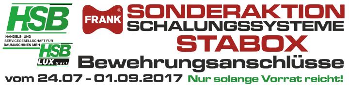 HSB Aktuell / Sonderaktion STABOX